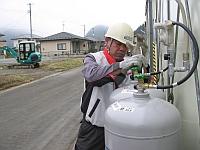 LPガスは災害時に役立ちます